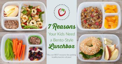 7 Reasons Why Your Kids Need a Bento-Style Lunchbox