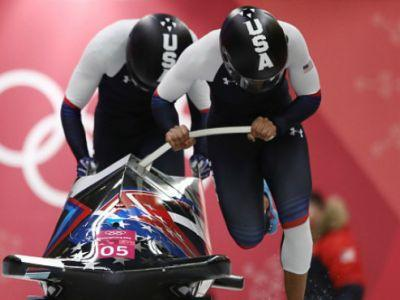 Photos: Meyers Taylor, Briggs win silver in women's bobsled