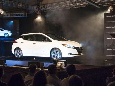 New Nissan Leaf Enters Production In Tennessee Ahead Of US Debut