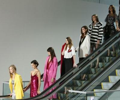 At Oscar de la Renta, newcomers try a splash of paint to freshen a classic look
