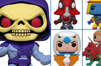 New Masters of the Universe Funko Pop! Figures Include 10-Inch