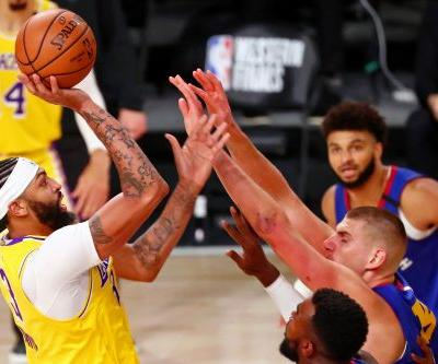 Los Angeles Lakers run away from Denver Nuggets in Game 1 of Western Conference finals