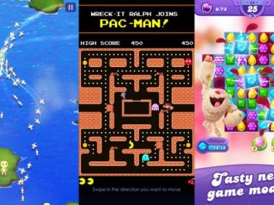 Candy Crush, Clear Vision, PAC-MAN, and the best free iPhone games of the week