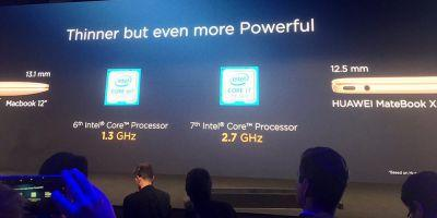 Huawei touts Windows 10 Matebook as 'thinner but more powerful than 12-inch MacBook'