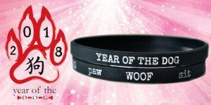 Win a YEAR OF THE DOG Bracelet Set!