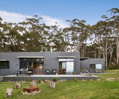 Fish Creek House / Archiblox Pty Ltd