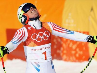 Winter Olympics 2018: Lindsey Vonn misses podium in Olympic return