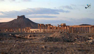 Syria: IS destroys part of Roman theater in Palmyra