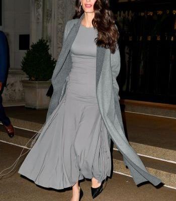 Amal Clooney's Anti-Party Outfit Will Make You the Chicest One in the Room
