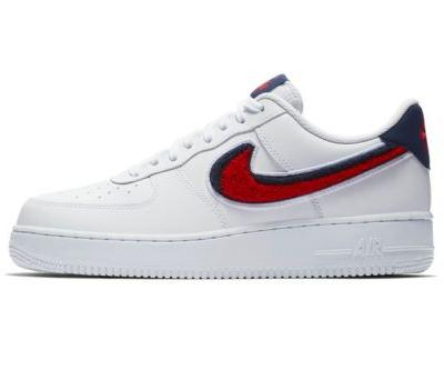 Nike's Air Force 1 '07 LV8 Joins the Chenille Swoosh Club