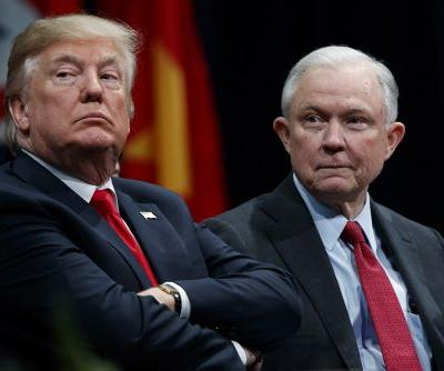 Trump blames Sessions for not probing Obama over election meddling