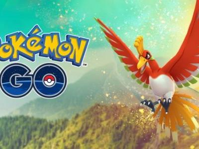 Pokémon Go Gets New Legendary Ho-Oh For A Limited Time