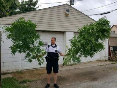 Ohio police pipe up on Facebook about weeding gardens