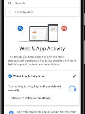 Google now lets you auto-delete your app activity, location and web history