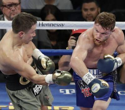The Latest: Golovkin picks up the pace in rounds 4-6