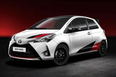 Yes This Is A Hotted Up Toyota Yaris and It Will Pack More Than 210 HP