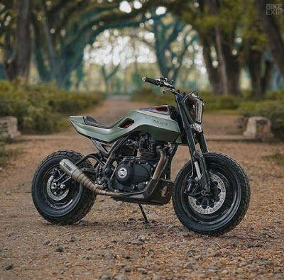 Check out this custom Royal Enfield Himalayan from Smoked Garage