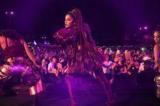 Ariana Grande Was Hit With a Lemon During her Coachella Set: Watch