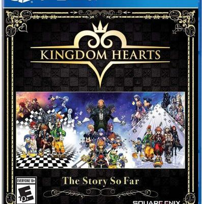 Kingdom Hearts - The Story So Far collection features six games in one package