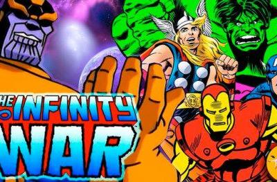 Infinity War Trailer Gets a 90s Animated Makeover and It's