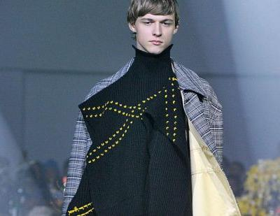 NYFW: Raf Simons comments on society's drug use