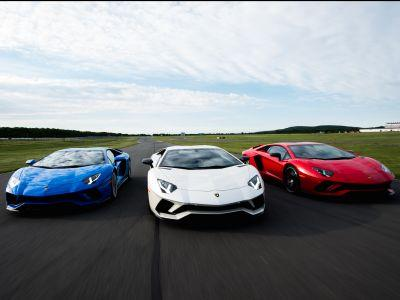 I drove the new $500,000 Lamborghini Aventador S supercar on a racetrack - here's what it was like
