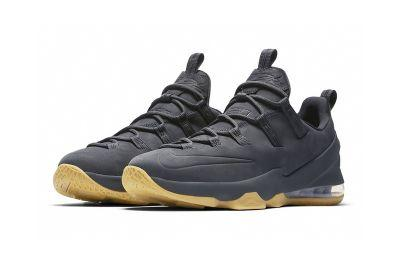 "Nike's LeBron 13 Low Gets a Premium ""Anthracite"" Makeover"