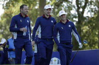'Everyone loves Sergio': Garcia proving worth at Ryder Cup