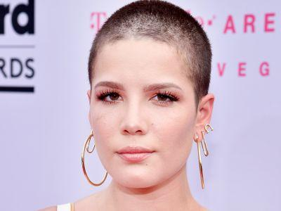 Why Halsey's Buzzcut Was Our Favorite Statement Of The Billboard Awards