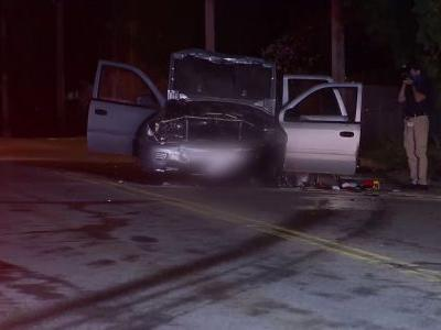 Serious crash involving two young children under investigation