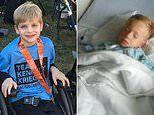 Two boys, 4 and 7, with mysterious polio-like illness reveal devastating impact the virus has left