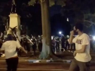 WATCH: U.S. National Guard Deployed As Protests Around The White House Flare