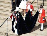 The Queen Is Surrounded by Family at the Garter Day Ceremony