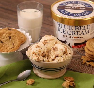 Blue Bell fan favorite flavor hits stores this month - Milk & Cookies