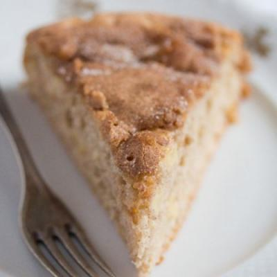 Easy French Apple Cake - Low Fat