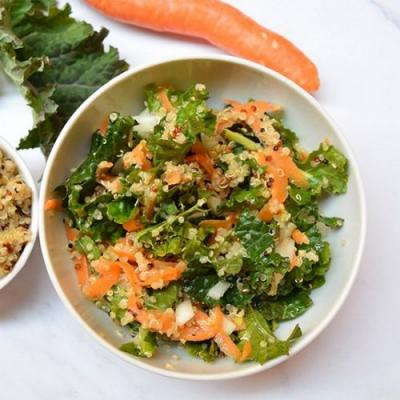 Kale, Quinoa, And Carrot Salad