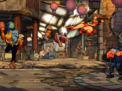 Streets of Rage 4 gameplay looks true to its Sega Mega Drive roots