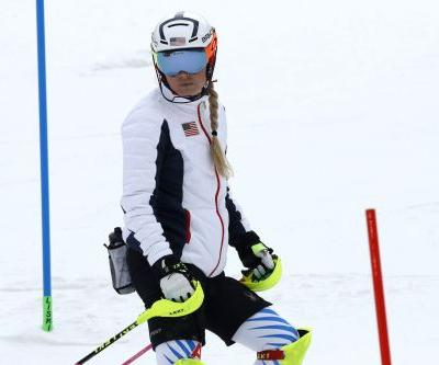 Lindsey Vonn fails to finish, Shiffrin takes silver in Alpine combined