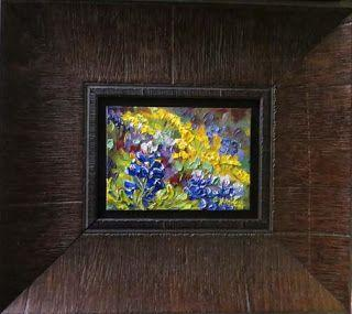 """New """"Texas Treasures"""" Bluebonnet oil painting series by Niki Gulley"""