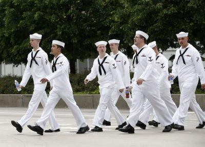 Here's what it's really like for US Navy sailors taking part in NYC's Fleet Week