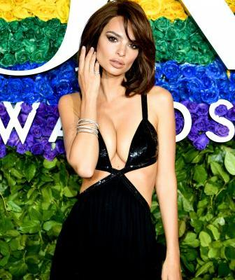Emily Ratajkowski Left *Very Little* to the Imagination at the 2019 Tony Awards - See Pics!