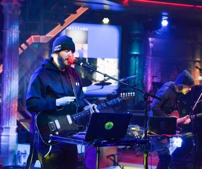 "Watch Big Red Machine Play ""Gratitude"" On Colbert"