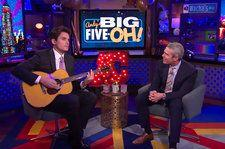 Watch John Mayer Cover Diana Ross for Andy Cohen's 50th Birthday Special