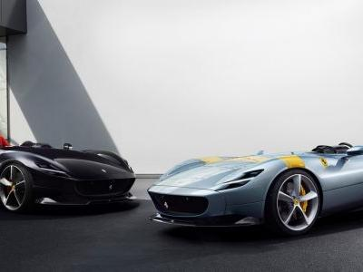 Ferrari Monza SP1 and SP2 First To Join New Limited-Edition Special-Series Segment Called Icona