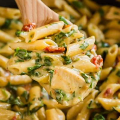 One Pot Italian Florentine Chicken