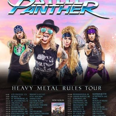 STEEL PANTHER Announces 'Heavy Metal Rules' Fall 2019 U.S. Tour; BLABBERMOUTH Presale Available