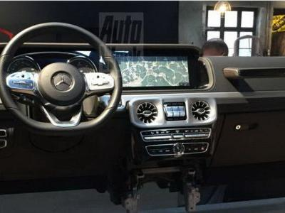 2019 Mercedes G-Class Interior Leaked: High-Tech But Still Not Afraid To Get Dirty