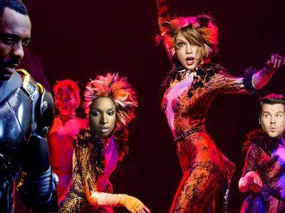 Idris Elba Joins 'Cats' Movie Musical, Hopefully to Cancel the Catpocalypse