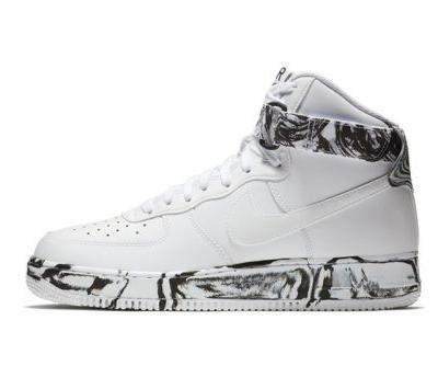 """Nike's Air Force 1 High """"Marble Dye"""" Is Available Now"""