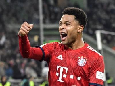 Germany striker Serge Gnabry extends contract at Bayern